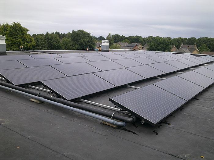 PVT zonnepanelen op het dak